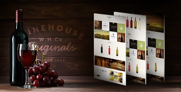 00 preview.  large preview 1 - Wine House | Winery & Restaurant Theme