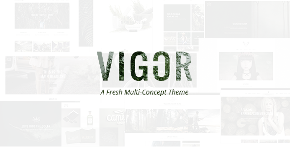 00 preview.  large preview 1 - Vigor - A Fresh Multi-Concept Theme