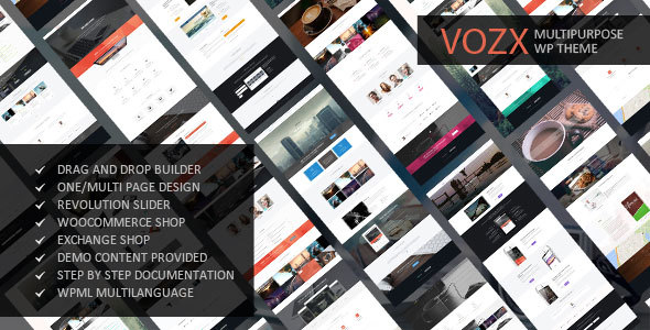 00 preview.  large preview - Vozx - Multipurpose and Event WordPress Theme