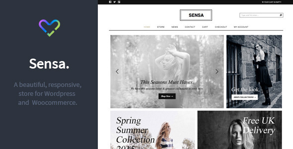 01 Intro.  large preview - Sensa - Responsive WordPress / Woocommerce Store