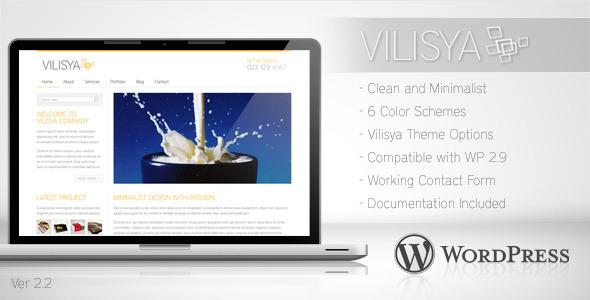 01 Vilisya preview.  large preview - Vilisya - Minimalist Business Wordpress Theme 3
