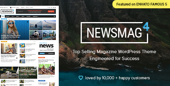 1.  large preview - Newsmag - News Magazine Newspaper