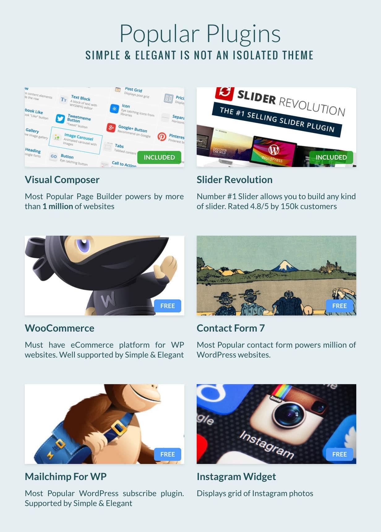687474703a2f2f73696d706c652d656c6567616e742e77697468656d65732e636f6d2f6465736372697074696f6e2f77702d636f6e74656e742f75706c6f6164732f73697465732f342f323031362f31312f706c7567696e732e6a7067 - Simple & Elegant - Multi-Purpose WordPress Theme