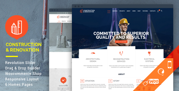 Preview.  large previewv - Construction - Construction Building Company