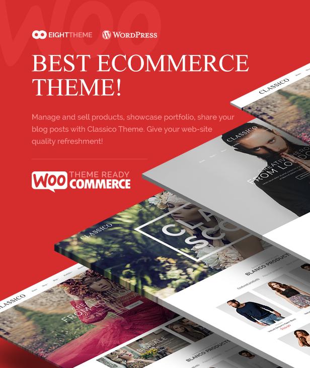 classico 01 - Classico - Responsive WooCommerce WordPress Theme