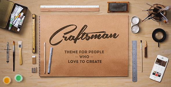 craftsman preview.  large preview - Craftsman | WordPress Craftsmanship Theme