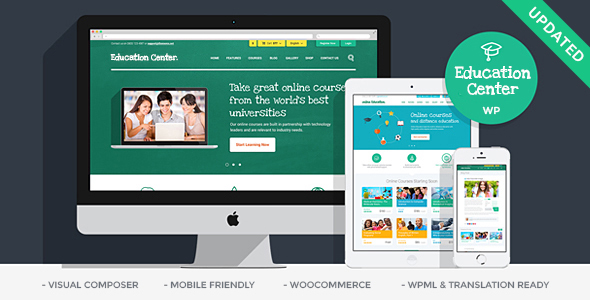 education preview upd.  large preview - Education Center | Training Courses WordPress Theme
