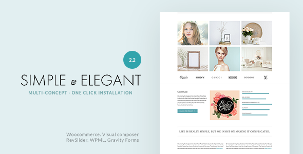 preview.2.2.  large preview - Simple & Elegant - Multi-Purpose WordPress Theme
