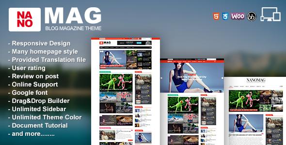 preview.  large preview - NanoMag - Responsive WordPress Magazine Theme