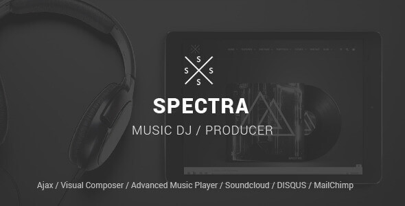 spektra - Spectra - Continuous Music Playback WordPress Theme
