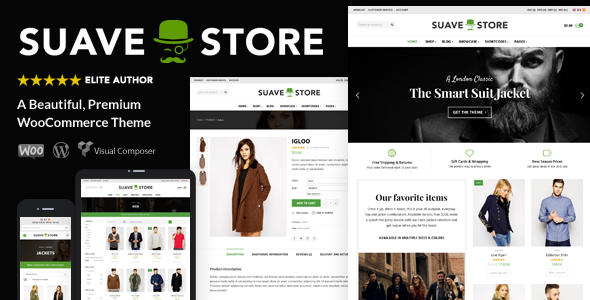 suave card.  large preview - Suave - Multi-Purpose WooCommerce Theme
