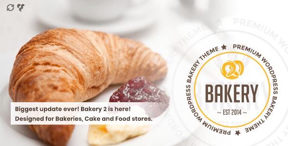 theme preview.  large preview 1 - Bakery | WordPress Bakery, Cakery & Food Theme