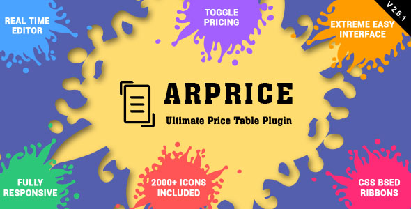 two - ARPrice - Responsive Pricing Table Plugin for WordPress