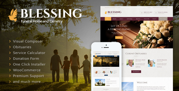 00 preview.  large preview  - Blessing | Funeral Home WordPress Theme