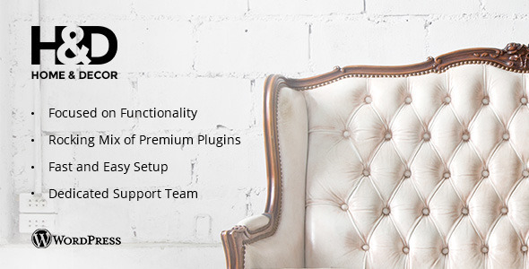 01 hndpreview.  large preview - H&D - Interior Design WordPress Theme