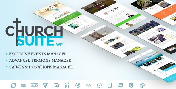 01 Preview.  large preview 2 - Church Suite - Responsive WordPress Theme