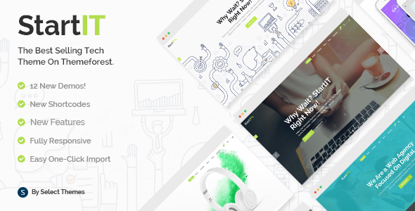 startit 1 - Startit - A Fresh Startup Business Theme