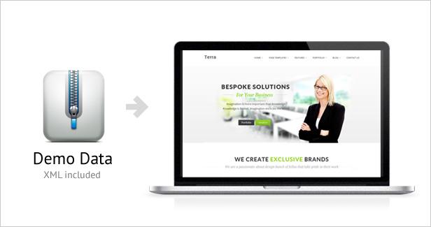 3 - Terra - Responsive Multi-Purpose WordPress Templete