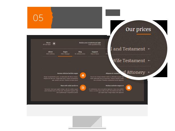 6 - Themis - Law Lawyer Business WordPress Theme