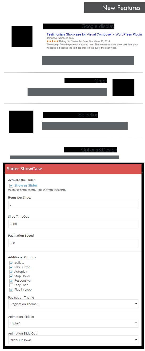 9 - Testimonials Showcase for Visual Composer Plugin