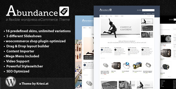abundance - Abundance eCommerce Business Theme