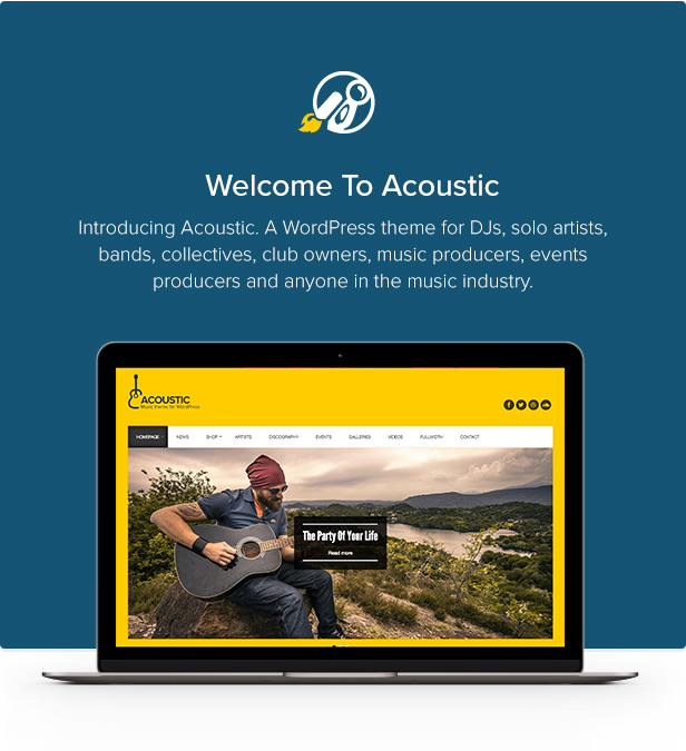 acoustic2 - Acoustic - Premium Music WordPress Theme