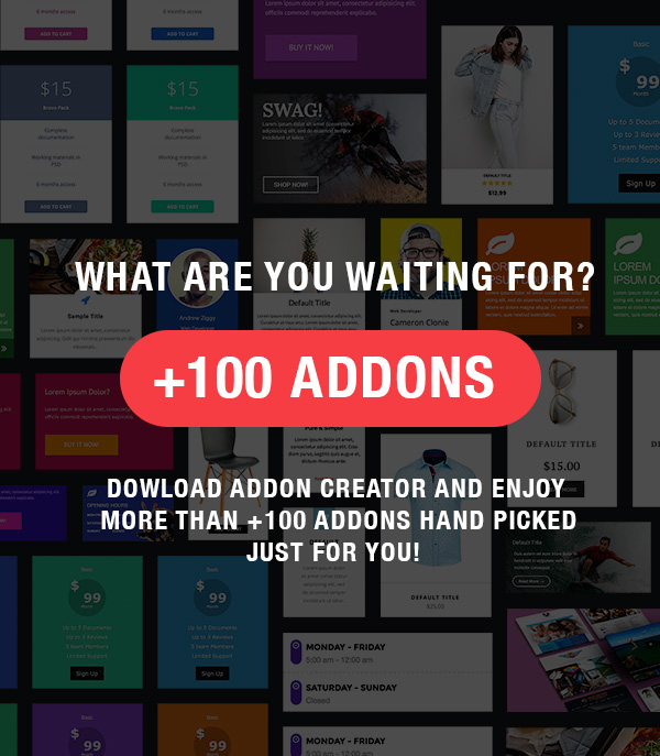addon23 - Addon Creator for WPBakery Page Builder
