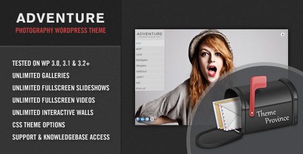 adventure - Adventure - A Unique Photography WordPress Theme