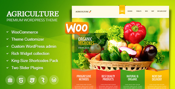 agriculture - Agriculture - All-in-One WooCommerce WP Theme