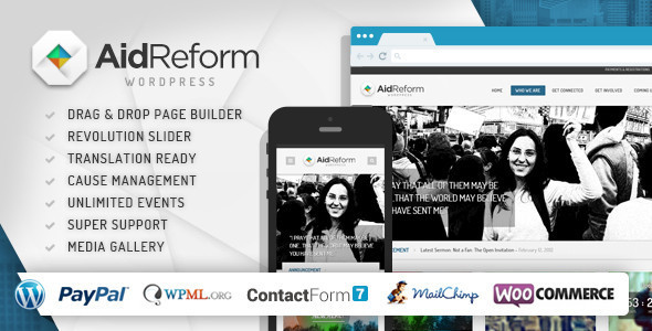 aid 1 - Aid Reform: NGO Donation and Charity Theme