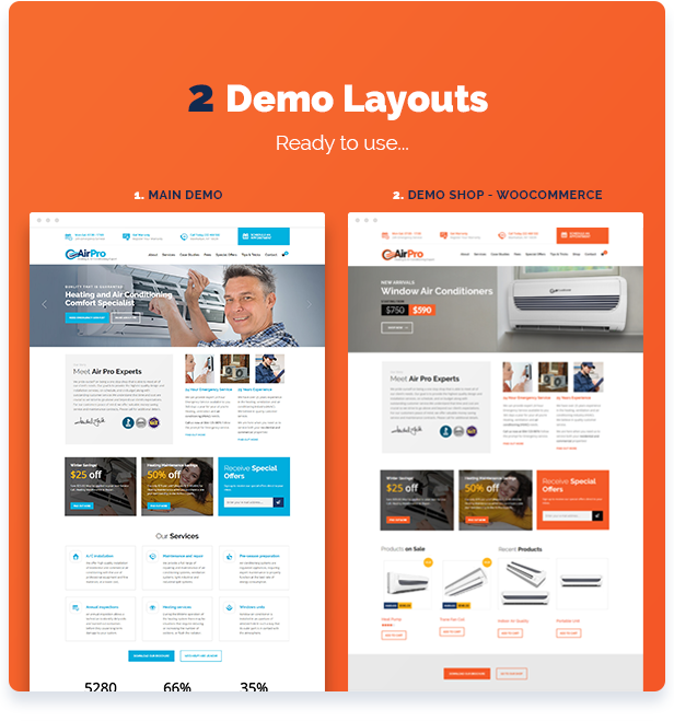 airpro7 - AirPro - Heating and Air conditioning WordPress Theme for Maintenance Services