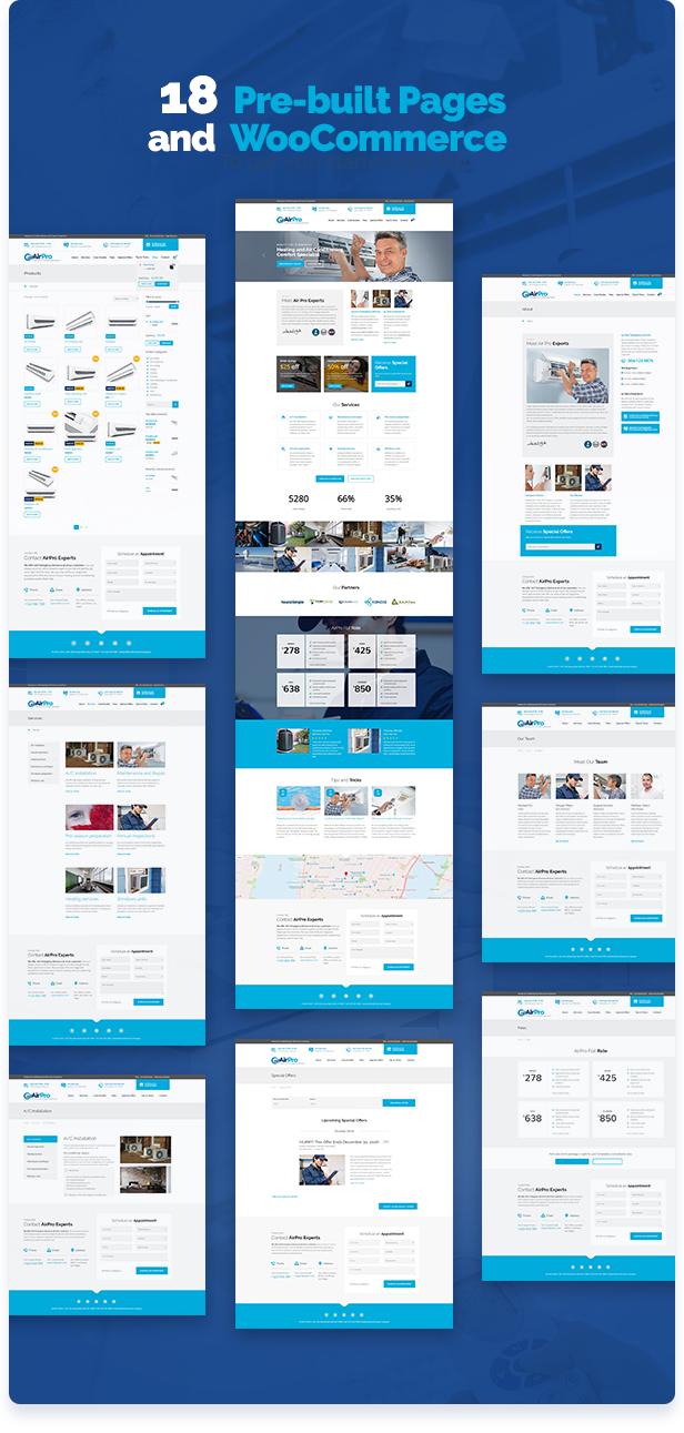airpro9 - AirPro - Heating and Air conditioning WordPress Theme for Maintenance Services