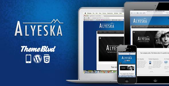 alyeska - Alyeska Responsive WordPress Theme