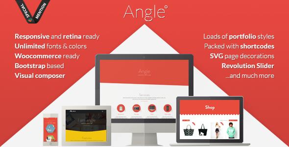 angle - Angle Flat Responsive Bootstrap MultiPurpose Theme