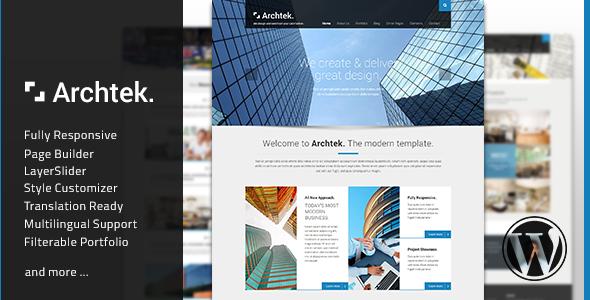 archtek - Archtek - Responsive Modern WordPress Theme