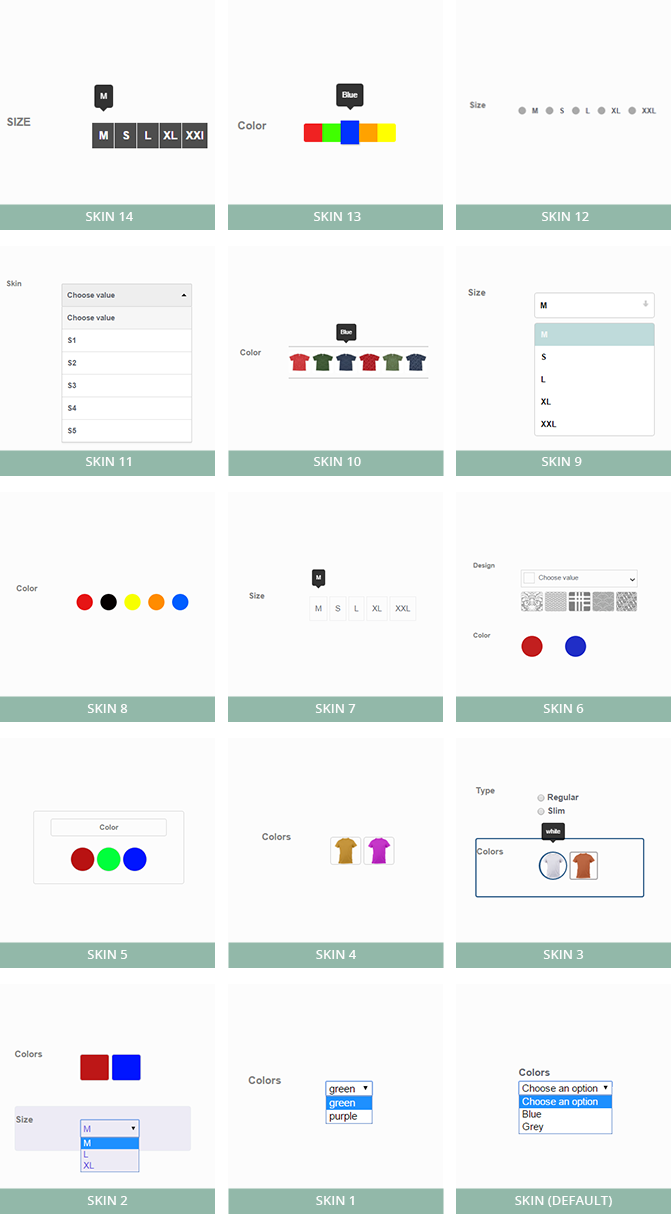 attributes2 - Woocommerce Visual Attributes & Options Swatches