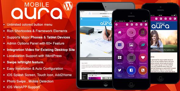 aura - Aura Premium Mobile Theme