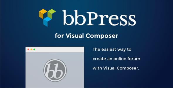 bbpress - bbPress for Visual Composer