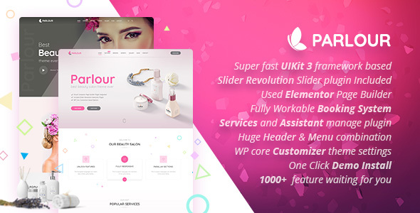 beauty2 - Beauty Salon - Responsive WordPress Template