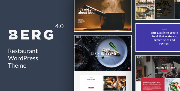 berg - BERG - Restaurant WordPress Theme