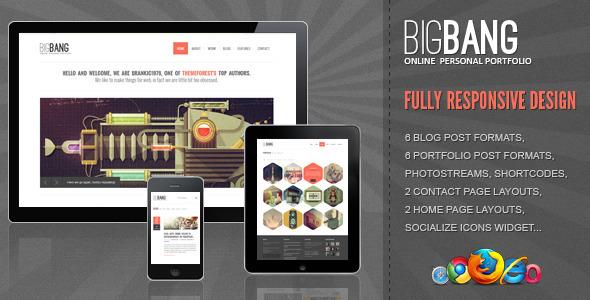 bigbang - Bigbang - Responsive WordPress Template