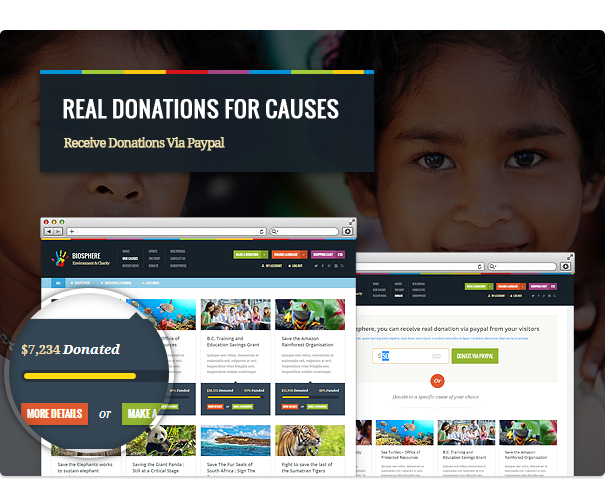biosphere3 - Biosphere - Environmental & Charity WP Theme