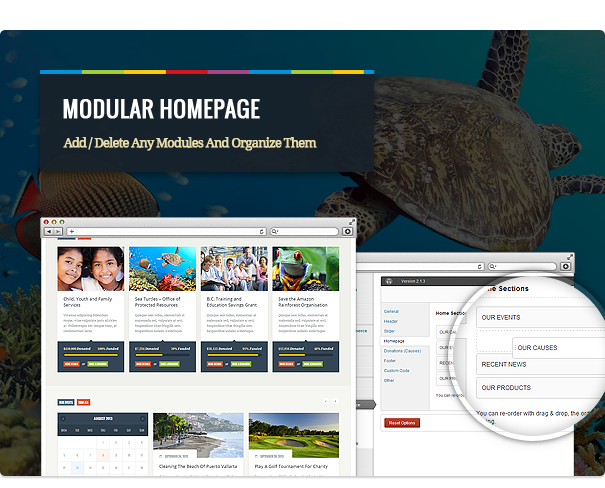 biosphere6 - Biosphere - Environmental & Charity WP Theme