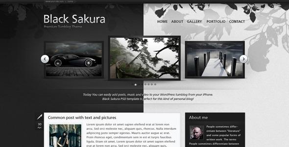 black sakura - Black Sakura
