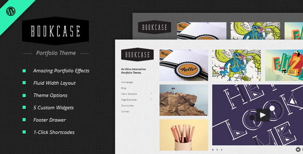 bookcase - Bookcase - Wordpress Portfolio Theme