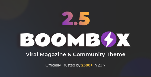 boombox - BoomBox — Viral Magazine WordPress Theme