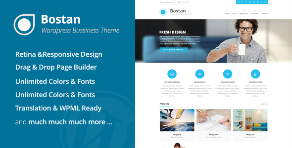 bostan - Bostan Business - Business Theme