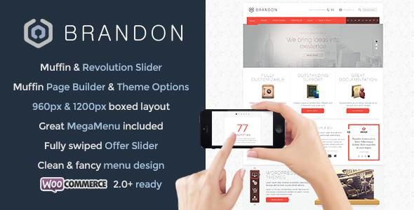 brandon - Brandon - Responsive Multi-Purpose WordPress Theme