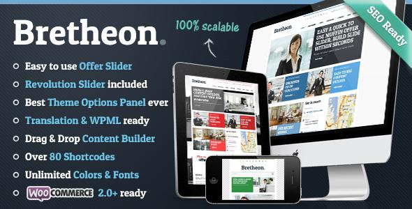 bretheon - Bretheon WordPress Theme