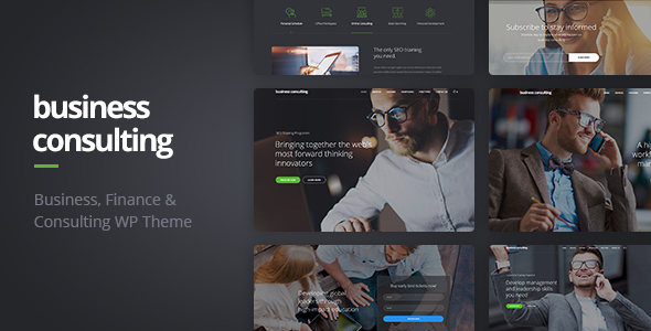 business - Business Consulting - Coaching, Business Training & Consulting WordPress Theme